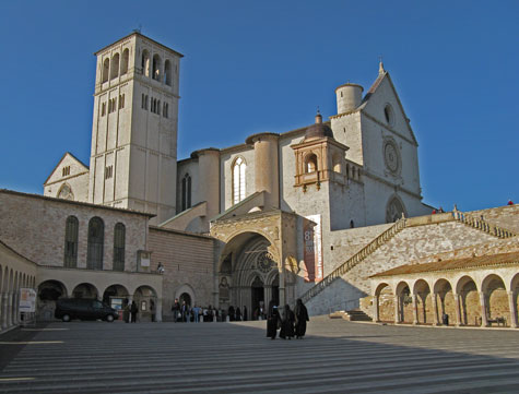 San Francesco Basilica in Assisi Italy