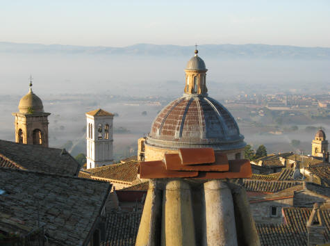 Chiesa Nuova in Assisi Italy