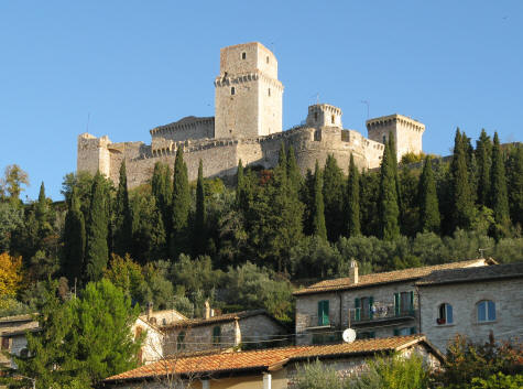 Why you should visit the castle in Assisi...